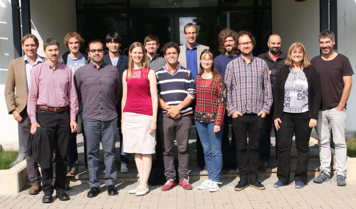 MULTIPLY consortium members at the Tartu Observatory